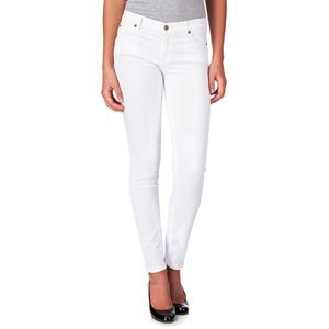 7 For All Mankind The Skinny in White